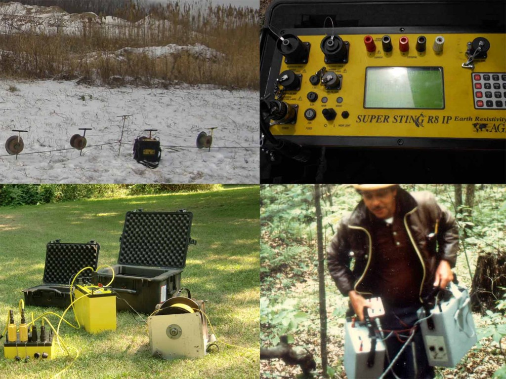 New and Old Geophysical Resistivity Instruments